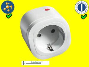 IT-3000 Funksteckdose Intertechno Funk-Schalter Zwischenstecker TOP! 3000 W/Watt