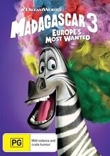 Madagascar 3 - Europe's Most Wanted : NEW DVD