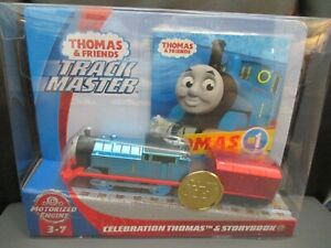 THOMAS & FRIENDS 75TH ANNIVERSARY SET CELEBRATION THOMAS MINT IN PACKAGE