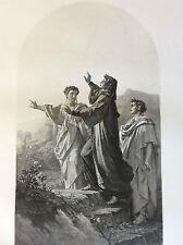 Dante 1298 Dante Alighieri poésie gravure XIX ème