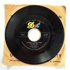 "PAT BOONE ""THERE""S A GOLD MINE IN THE SKY/REMEMBER YOU'RE MINE"" 45-15602 7"" 45"