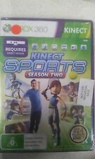 kinect sports season two xbox 360 new