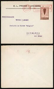 Belgium 1933 - Cover Antwerp - Red Cross D365