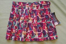 """NEW WITH TAGS WOMEN'S LE COQ SPORTIF SKIRT SIZE 14 PLEATED MULTI-COLOR 30"""" WAIST"""