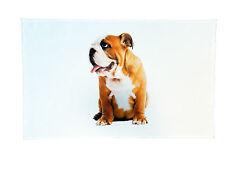 Traditional English Bulldog Large Cotton Tea Towel