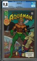 Aquaman #1 CGC 9.8 White Pages 1991 Return of the King