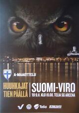 Programa ls 9.11.2017 Finlandia Finland Suomi-Estonia Estonia