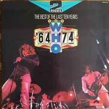 The Who - The Best Of The Last Ten Years '64 '74 - Double (2) Vinyl LP 33T