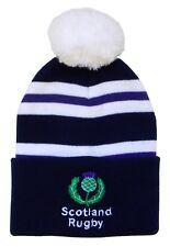 Scotland Rugby Bobble Hat - Made in the UK