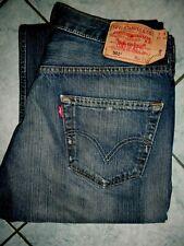 Levi`s 501 Levi Strauss W 34 L 32 Jeans Dunkelblau W34 L32 Levis Jeanshose 34/32