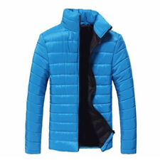 US Mens Warm Stand Collar Down Jacket Parka Coat Slim Winter Zipper Coat Outwear