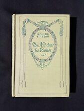 Un nid dans les ruines - Léon de Tinseau - Nelson N° 122 - Edition vers 1930