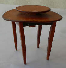 miniature : Table ronde en bois