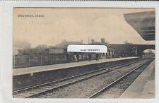 More details for steventon railway station nr abingdon passengers staff ppc valentine used 1908