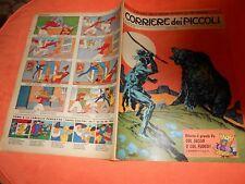 CORRIERE DEI  PICCOLI     NR 12   1962 con INSERTO REGIONI  FIGURINA TOPO GIGIO