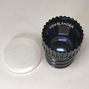 Voigtlander Talon 85mm f/2.9 Projector Lens, Near Mint