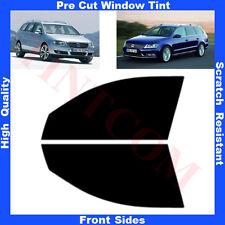 Pre Cut Window Tint VW Passat B6/B7 Estate 5 Doors 05-13 Front Sides Any Shade