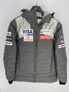 SPYDER US Ski Team Official Athlete issue DOWN/Windstopper Ski Jacket Coat sz 12