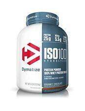 Dymatize ISO 100 Hydrolyzed Whey Protein Isolate Gourmet Chocolate- 5 lbs