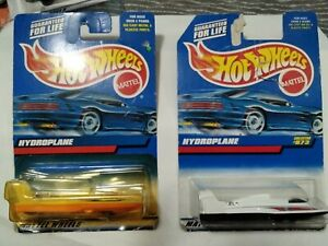 """1995 HOT WHEELS HYDROPLANE OCEANICS ONE RESEARCH VEHICLE 3 1/2"""" DIECAST BOAT NEW"""