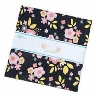 "A Little Bit of Sparkle, 5"" Charm Pack, Fabric Quilt Squares, 5-8980-42, SQ36"