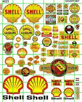 4023 DAVE'S DECALS ASSORTED VINTAGE & MODERN GAS OIL SERVICE STATION MIXED ERAS