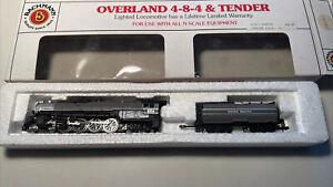 N Scale Bachmann 4 8 4 Union Pacific 806 Steam Engine /Tender Vintage Tested Run