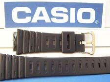 Casio Watch Band DW-210 G,DW-240 G, DW-260 G, DW-270 G black Rub Strap w/gold to