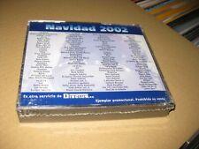 Weihnachten 2002 Spanisch Promo 5 CD Box U2 Bjork Rolling Stones Bruce