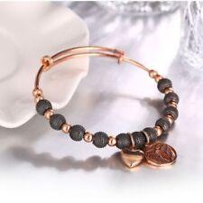 Modeschmuck-Armbänder aus Rosegold Dehnbare Perlen