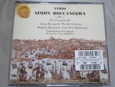 Verdi: Simon Boccanegra-Gavazzeni, Cappuccilli, DOMINGO, RICCIARELLI - 2 CD S