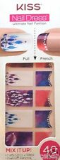 Kiss Nail Stick on Applique Strips French or Full 40 Strips 60498 Cosmopolitan