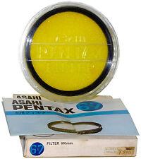 NOS Pentax Y48 (Y2) Yellow Filter: 100mm Bayonet