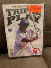 VTG Sega Genesis Triple Play Gold Edition Baseball Video Game ~ NEW SEALED!