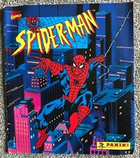 PANINI Spiderman 1990's story sticker book - very rare Marvel Comics TM
