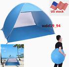 Foldable Beach Tent 2-3 Person Sun Shelter lodge Camping Sun Umbrella tabernacle