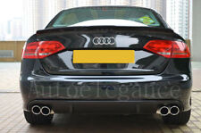 DIFFUSORE POSTERIORE AUDI A4 B8 8K 07-11 LOOK RS4 S4 USCITRE DX + SX