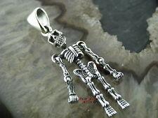 Ketten Anhänger Totenkopf Skull SKELETT Gothic Celtic Pendants Silber 925