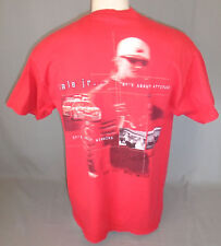 Dale Earnhardt Jr #8 Budweiser Short Sleeve Red T-Shirt Size Medium