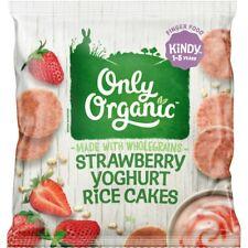 Strawberry Yoghurt Rice Cakes 30g 1-5 years