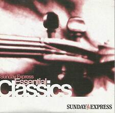 ESSENTIAL CLASSICS - PROMO CD: PACHELBEL VIVALDI MOZART BACH BEETHOVEN BRAHMS ++