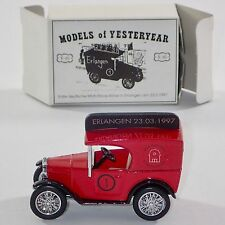 Matchbox Models of Yesteryear Y- 65 1928 Austin 7 Van, OVP