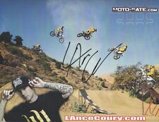 *LANCE COURY*SIGNED*AUTOGRAPHED*PICTURE*MOTO*GATE*HART & HUNTINGTON*