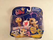 Littlest Pet Shop Cuddliest Duo Little Lamb Sheep 1003 Duck 1002 New Hasbro