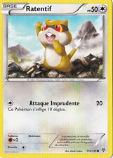 Ratentif -N&B:Tempête Plasma-110/135-Carte Pokemon Neuve Française