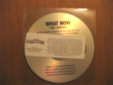 """WHAT NOW """"Take Control E.P."""" 5 track promo CD inc. Toy Soldiers + Run + Move On"""