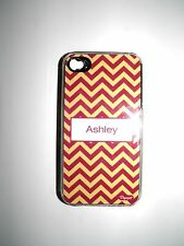 "PERSONALIZED NAME COVER FOR IPHONE 4/4S WITH 2 LAYERS OF PROTECTION ""ASHLEY"" NEW"