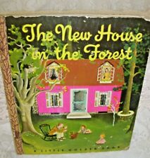 A Little Golden Book The New House in the Forest  Rare 1946 Bank Street Book