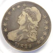 1829/7 Capped Bust Half Dollar 50C O-101a - ANACS VF20 Detail - Rare Overdate!