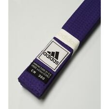 New adidas Taekwondo Karate Belt Martial Arts Judo Jiu-Jitsu Belt Cotton-PURPLE
